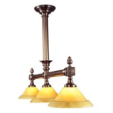 Baron™ Three Light Chandelier with 3-1/4 in. shade holders