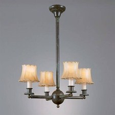 Shoreland™ Four Light Chandelier with electric candles