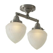 Ballantrae™ Two Light Flush Ceiling Fixture with 3-1/4 in. shade holders