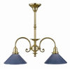 Provence™ Two Light Chandelier with 2-1/4 in. shade holders down