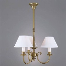 Provence™ Three Light Chandelier with electric candles