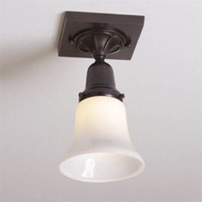 Morris™ One Light Flush Ceiling Fixture with 2-1/4 in. shade holder