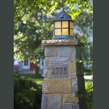 Cottage™ Lantern 12 in. Wide Exterior Pier Light