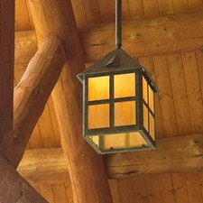 Cottage™ Lantern 12 in. Wide Solid Stem Exterior Pendant Light