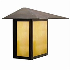 Prairie View Lantern™ 13 in. Wide Flush Exterior Wall Light