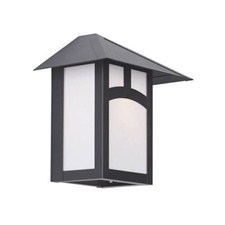 Pine Lake Lantern™ 9 in. Wide Flush Exterior Wall Light