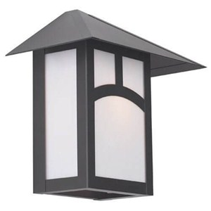 Pine Lake Lantern™ 12 in. Wide Flush Exterior Wall Light