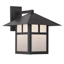 Pine Lake Lantern™ 16 in. Wide Straight Arm Exterior Wall Light
