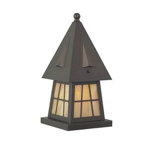 European Country Lantern™ 6 in. Wide Exterior Pier Light