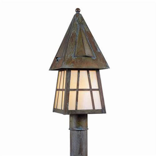 European Country Lantern™ 8 in. Wide Exterior Post Light