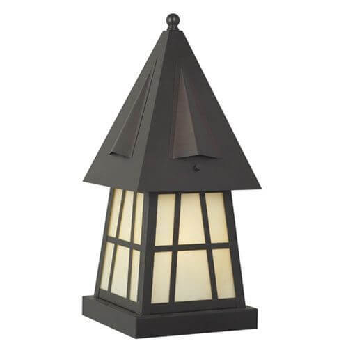 European Country Lantern™ 8 in. Wide Exterior Pier Light