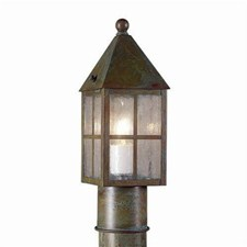 Carriage Lantern™ 4 in. Wide Exterior Post Light Line Voltage