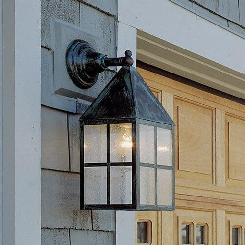 Carriage Lantern™ 7 in. Wide Straight Arm Exterior Wall Light