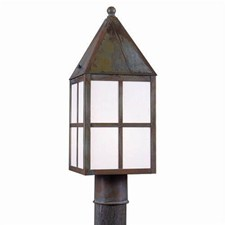 Carriage Lantern™ 7 in. Wide Exterior Post Light
