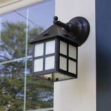 Cottage Lantern™ 6 in. Wide Straight Arm Exterior Wall Light