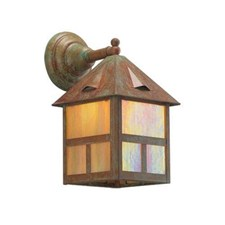 Cottage Lantern™ 8 in. Wide Straight Arm Exterior Wall Light