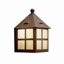 Cottage Lantern™ 8 in. Wide Flush Exterior Wall Light
