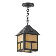 Cottage Lantern™ 8 in. Wide Chain Hung Exterior Pendant Light