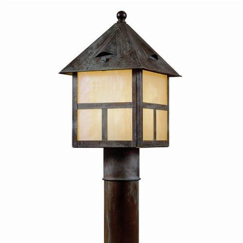 Cottage Lantern™ 8 in. Wide Exterior Post Light