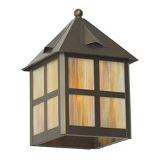 Cottage Lantern™ 10 in. Wide Flush Exterior Wall Light