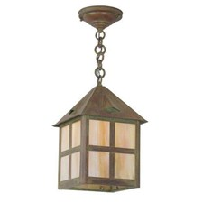 Cottage Lantern™ 10 in. Wide Chain Hung Exterior Pendant Light