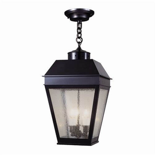 Provincial Lantern™ 13 in. Wide Chain Hung Exterior Pendant Light