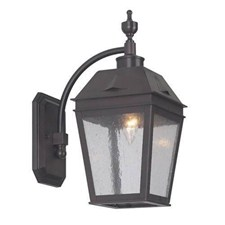 Georgian Lantern™ 6 in. Wide Curved Arm Exterior Wall Light