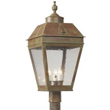 Georgian Lantern™ 13 in. Wide Exterior Post Light