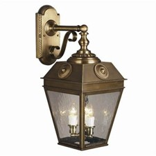 French Country Lantern™ 11 in. Wide Scrolled Drop Exterior Wall Light