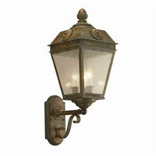 French Country Lantern™ 11 in. Wide Scrolled Coach Exterior Wall Light