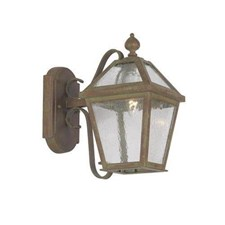 London Lantern™ 7 in. Wide Scrolled Arm Exterior Wall Light