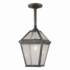 London Lantern™ 7 in. Wide Solid Stem Exterior Pendant Light