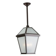 London Lantern™ 12 in. Wide Solid Stem Exterior Pendant Light