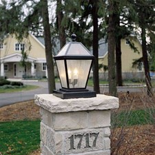 London Lantern™ 12 in. Wide Exterior Pier Light