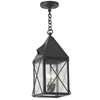 Lancaster Lantern™ 6 in. Wide Chain Hung Exterior Pendant Light