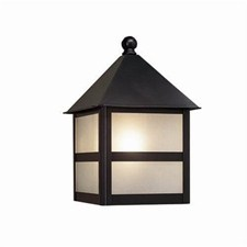 Bungalow Lantern™ 6 in. Wide Flush Exterior Wall Light