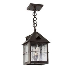 Stonehaven Lantern™ 8 in. Rustic Pendant Light