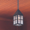 Carriage™ Lantern 7 in. Wide Solid Stem Exterior Pendant Light