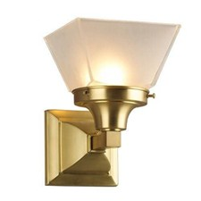 Glen Ellyn™ One Light Straight Arm Sconce with 4-1/4 in. shade holder