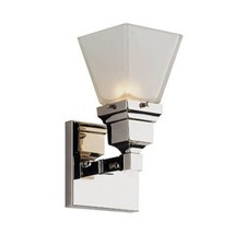 Spring Green™ One Light Straight Arm Sconce with 2-1/4 in. shade holder