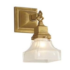 Oak Park™ One Light Chain Link Sconce with 2-1/4 in. shade holder