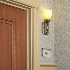 McCormick One Light Straight Arm Sconce with 2-1/4 in. shade holder