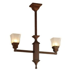 Hartford™ Two Light Pendant with 2-1/4 in. shade holders up
