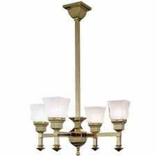Wentworth™ Four Light Chandelier with 2-1/4 in. shade holders