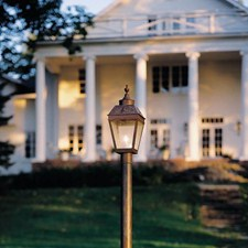 Georgian™ Lantern 9 in. Wide Exterior Post Light