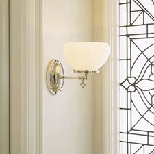 Glendale™ One Light Gas Key Sconce with 4-1/4 in. shade holder