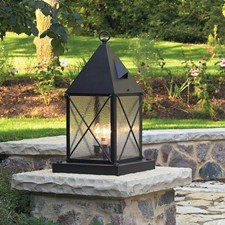 Lancaster™ Lantern 12 in. Wide Exterior Pier Light