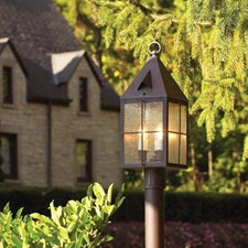 Lancaster™ Lantern 7 in. Wide Exterior Post Light
