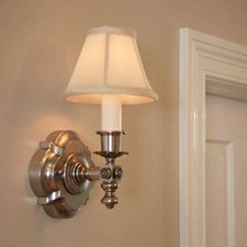Montclair™ One Light Straight Arm Sconce with electric candle