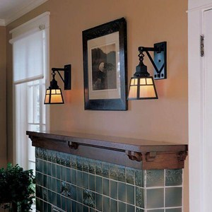 Nashota™ One Light Chain Link Sconce with 2-1/4 in. shade holder